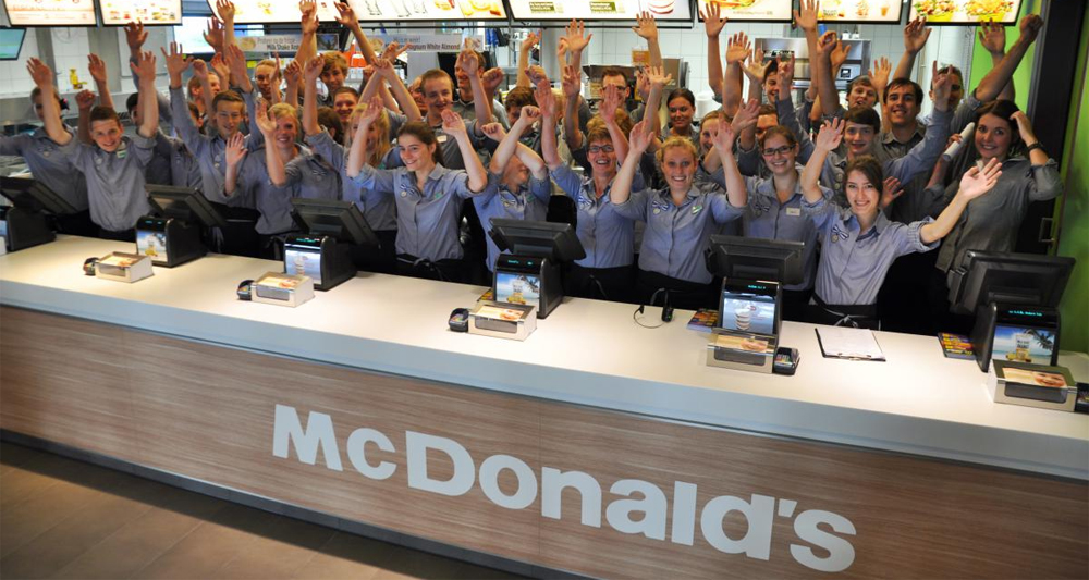 Shoes for Crews in 175 McDonald's restaurants